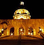 Pasadena City Hall Art Print