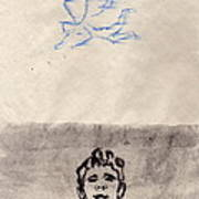 Paso Un Angel Art Print