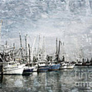 Pass Christian Harbor Art Print