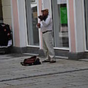 Passau Violinist Art Print