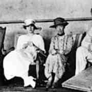 Passengers On Ship, 1912 Art Print