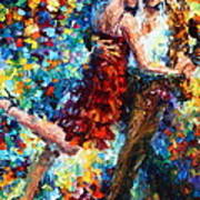 Passion Dancing Art Print
