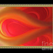 Passion Tunnel. Greeting Card Art Print