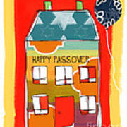 Passover House Art Print by Linda Woods
