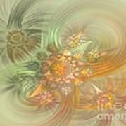 Pastel Delicate Pattern Art Print