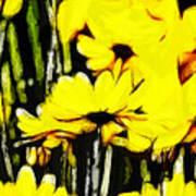 Pastel Flowers Art Print