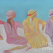 Pastel Hats By Jrr Art Print