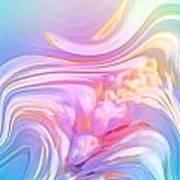 Pastel Moves Art Print