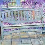 Pastel Patio Art Print