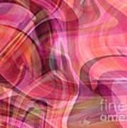 Pastel Power- Abstract Art Art Print