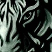 Pastel Tiger Art Print