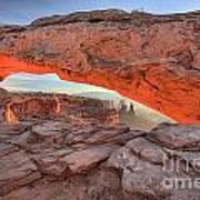Pastels At Canyonlands Art Print