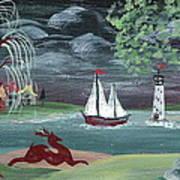 Pastoral Landscape Art Print