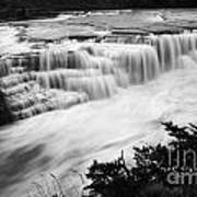 Patagonia Rio Glaciar Waterfall Art Print