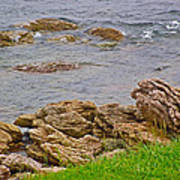 Patch Reefs At Point Amour In Labrador Art Print