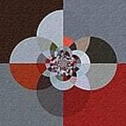 Patchwork Craze - Abstract - Triptych Art Print