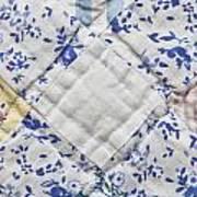 Patchwork Quilt Art Print by Tom Gowanlock