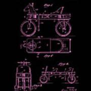 Patent Art 1920 Herzog Hobby Horse Pink Art Print