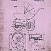 Patent Art Baby Carriage 1920 Lark Invite IIi Art Print