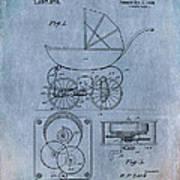 Patent Art Baby Carriage Lark II Invite Art Print