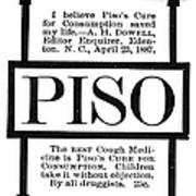 Patent Medicine, C1887 Art Print