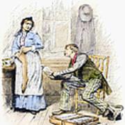 Patent Medicine Salesman Art Print