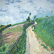 Path Leading To Ville D'avray Art Print