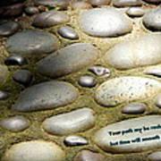 Path Of Pebbles  Art Print