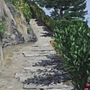 Path To L'eremo Sul Mare Art Print