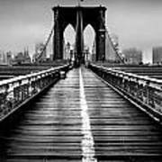 Path To The Big Apple Art Print