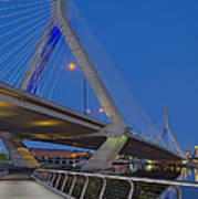 Path To The Leonard P. Zakim Bridge Art Print