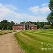 Pathway To Adlington Hall Art Print
