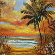 Pathway To The Beach 11 Art Print