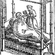 Patient And Nurse, 1646 Art Print