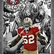 Patrick Willis 49ers Art Print