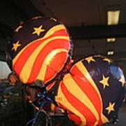 Patriotic Balloons Veteran's Day Casa Grande Arizona 2004 Art Print