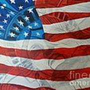 Patriotic Print by Michelley Fletcher