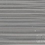 Pattern - Corrugated Metal Art Print