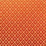 Pattern Of Cloth Art Print