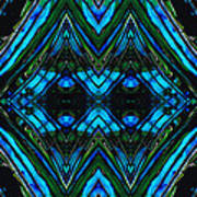 Patterned Art Prints - Cool Change - By Sharon Cummings Art Print