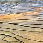 Patterns At Yellowstone #1 Art Print