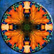 Patterns Of Autumn Art Print
