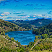 Patterson Lake In The Summer Art Print by Omaste Witkowski