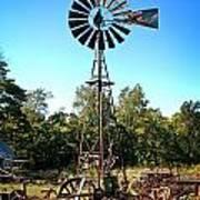 Patterson Windmill Art Print by Marty Koch