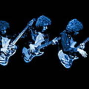 Paul Harwood Of Mahogany Rush Plays The Blues Art Print
