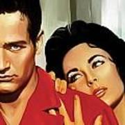 Paul Newman Artwork 3 Art Print