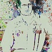 Paul Newman  Art Print by Naxart Studio