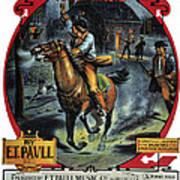 Paul Reveres Ride Art Print