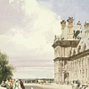 Pavilion De Flore, Tuileries, Paris Art Print