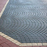 Paving Bricks Art Print